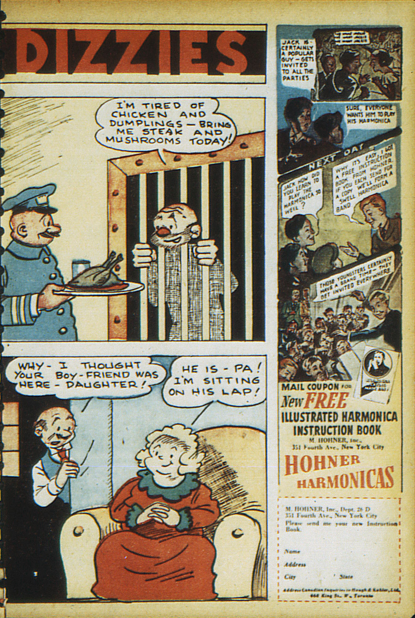 Read online Adventure Comics (1938) comic -  Issue #15 - 61