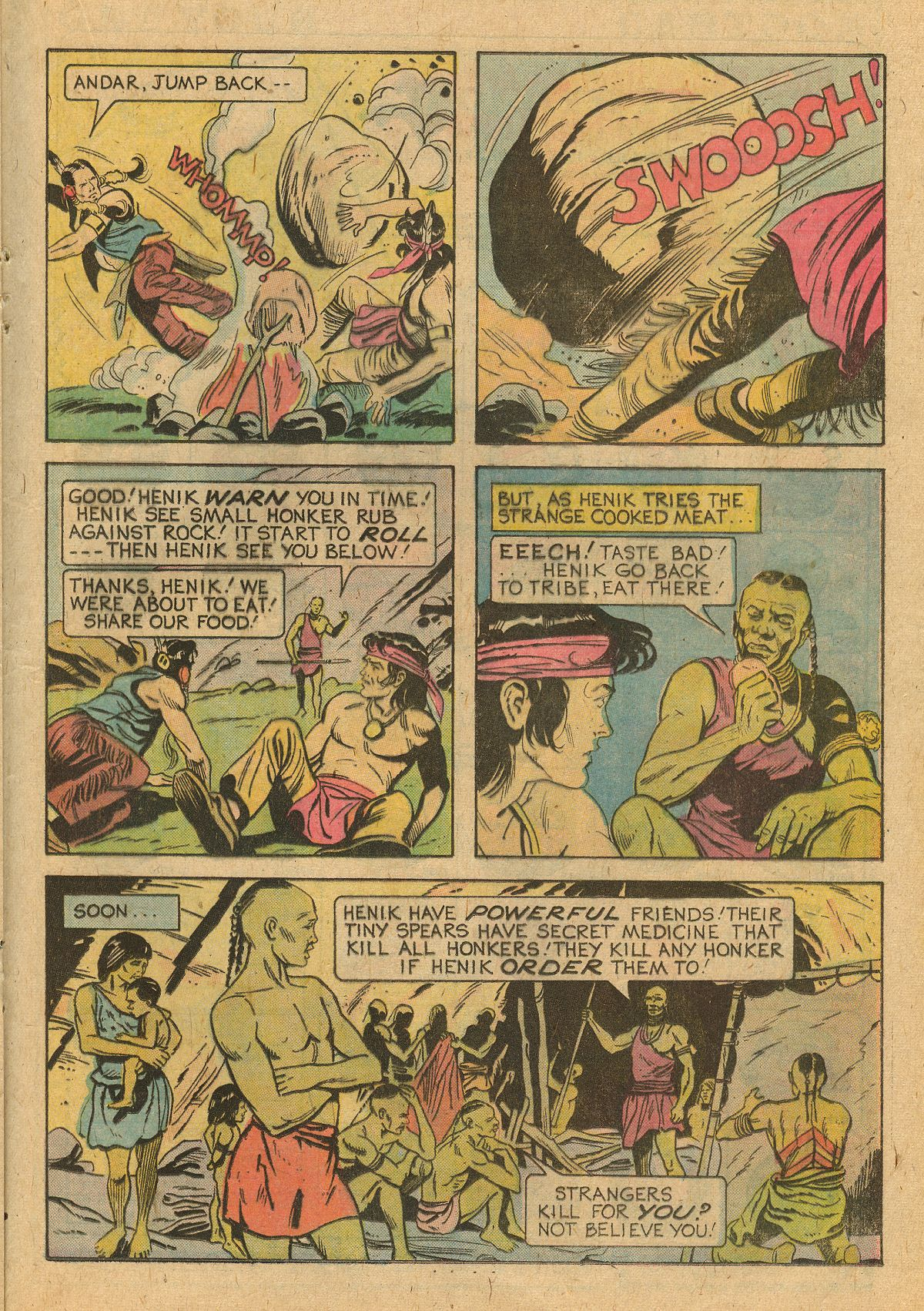 Read online Turok, Son of Stone comic -  Issue #105 - 21