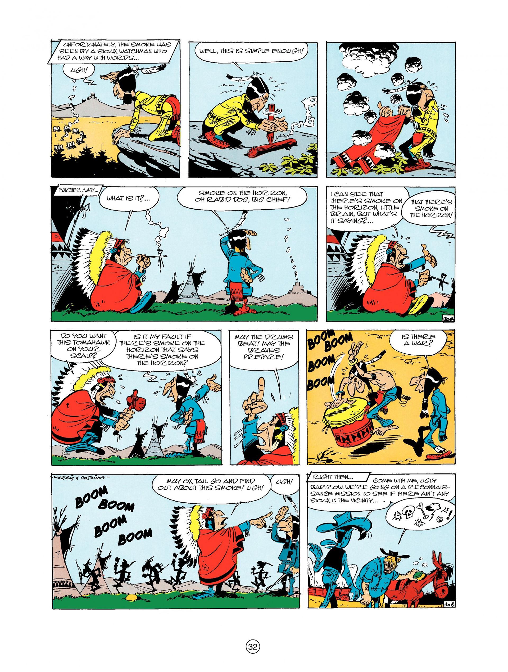 Read online A Lucky Luke Adventure comic -  Issue #9 - 32
