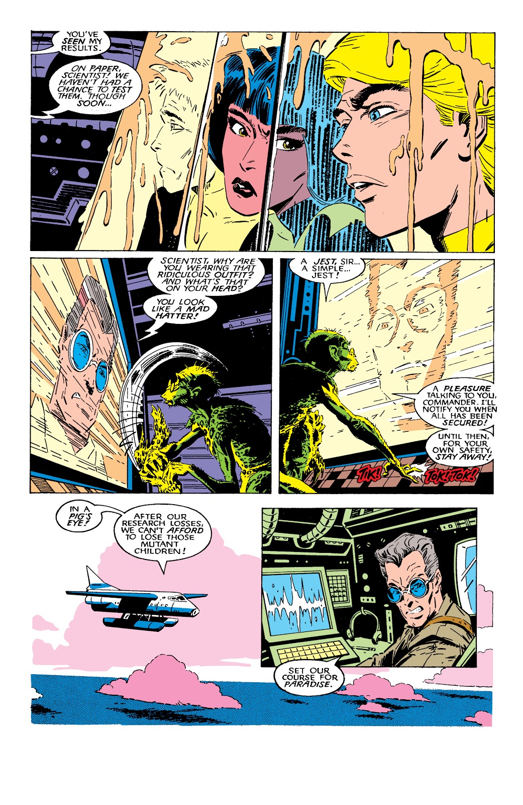 Read online X-Men Milestones: Fall of the Mutants comic -  Issue # TPB (Part 2) - 31