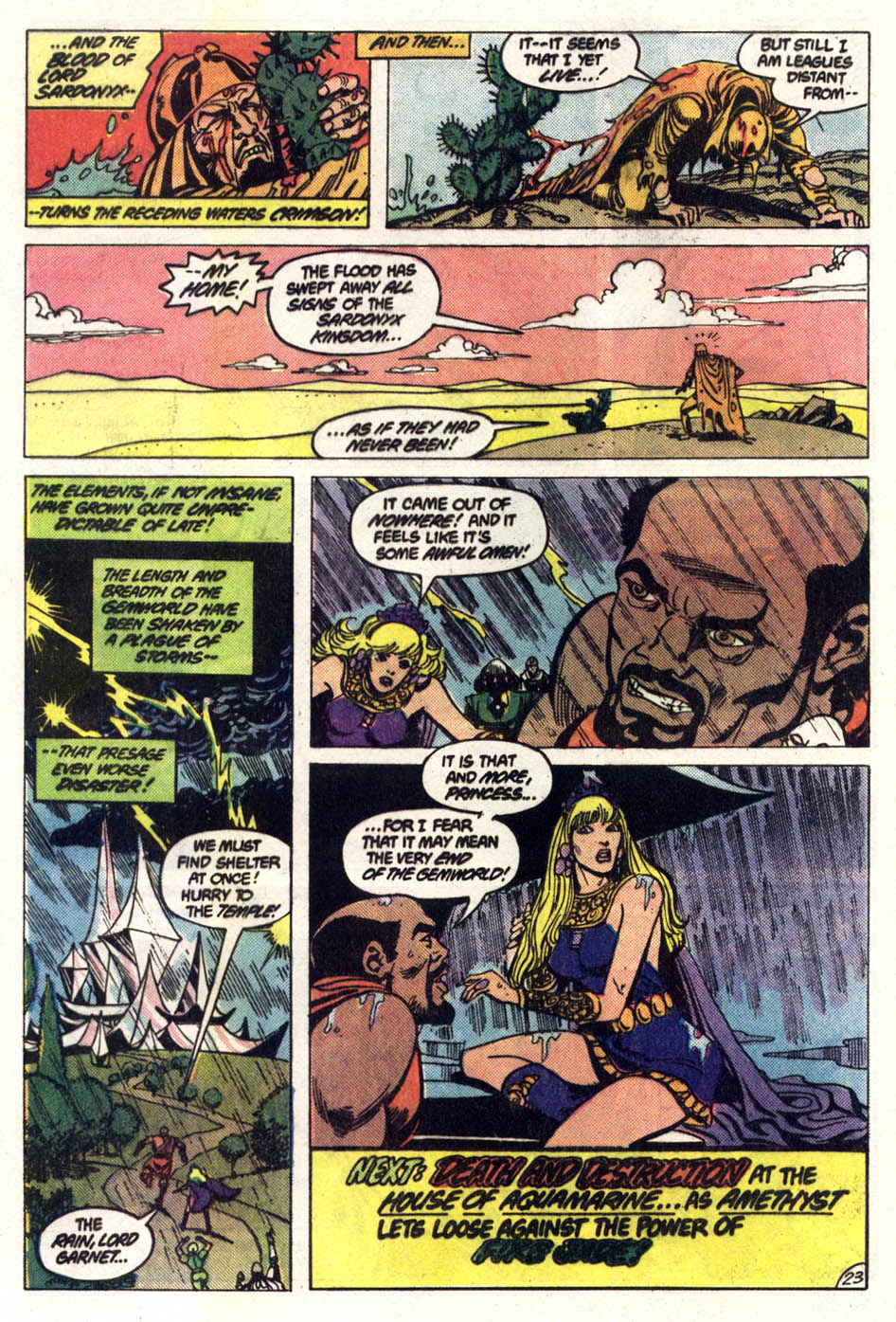 Read online Amethyst (1985) comic -  Issue #2 - 24