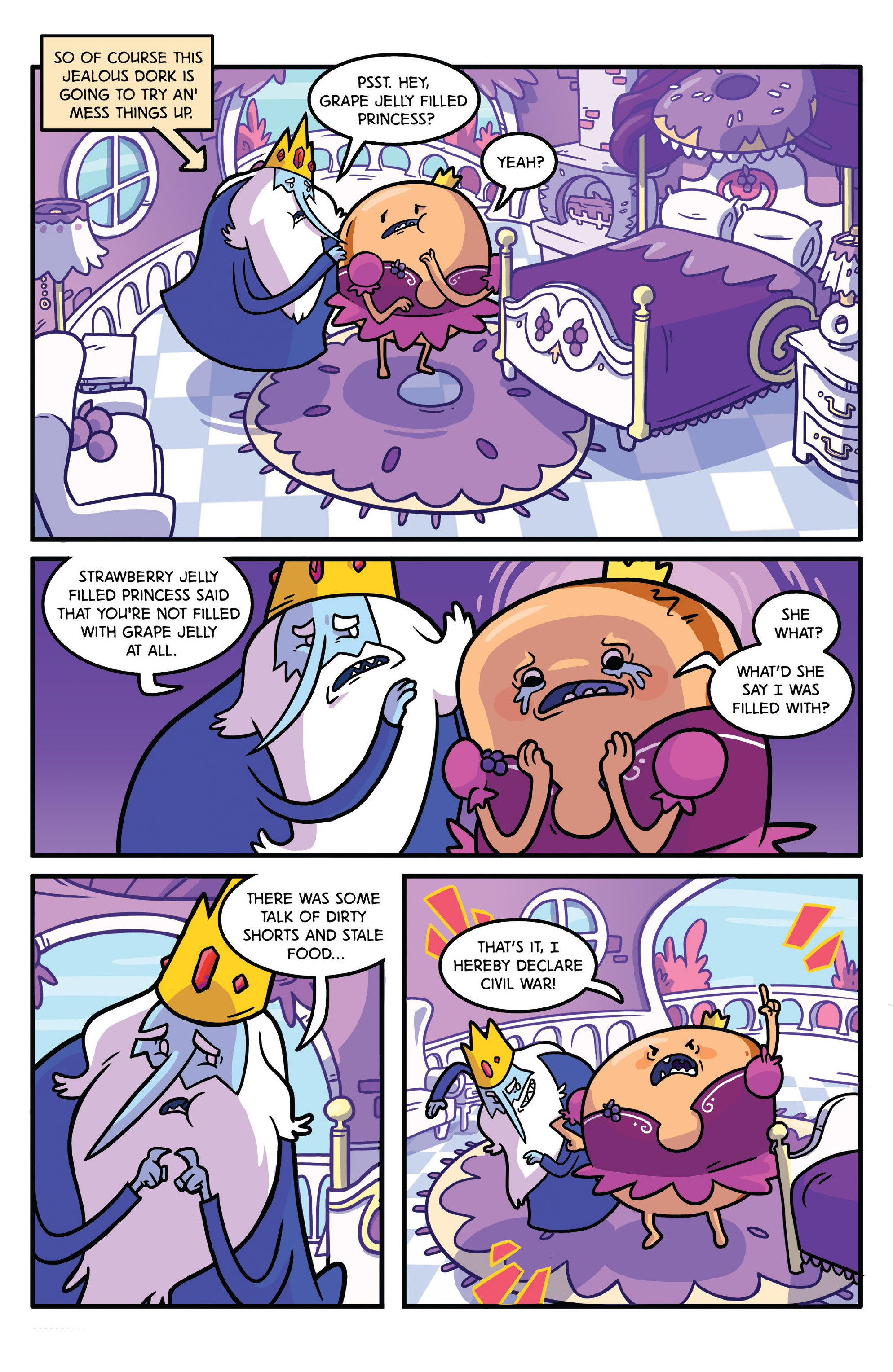 Read online Adventure Time comic -  Issue #27 - 24