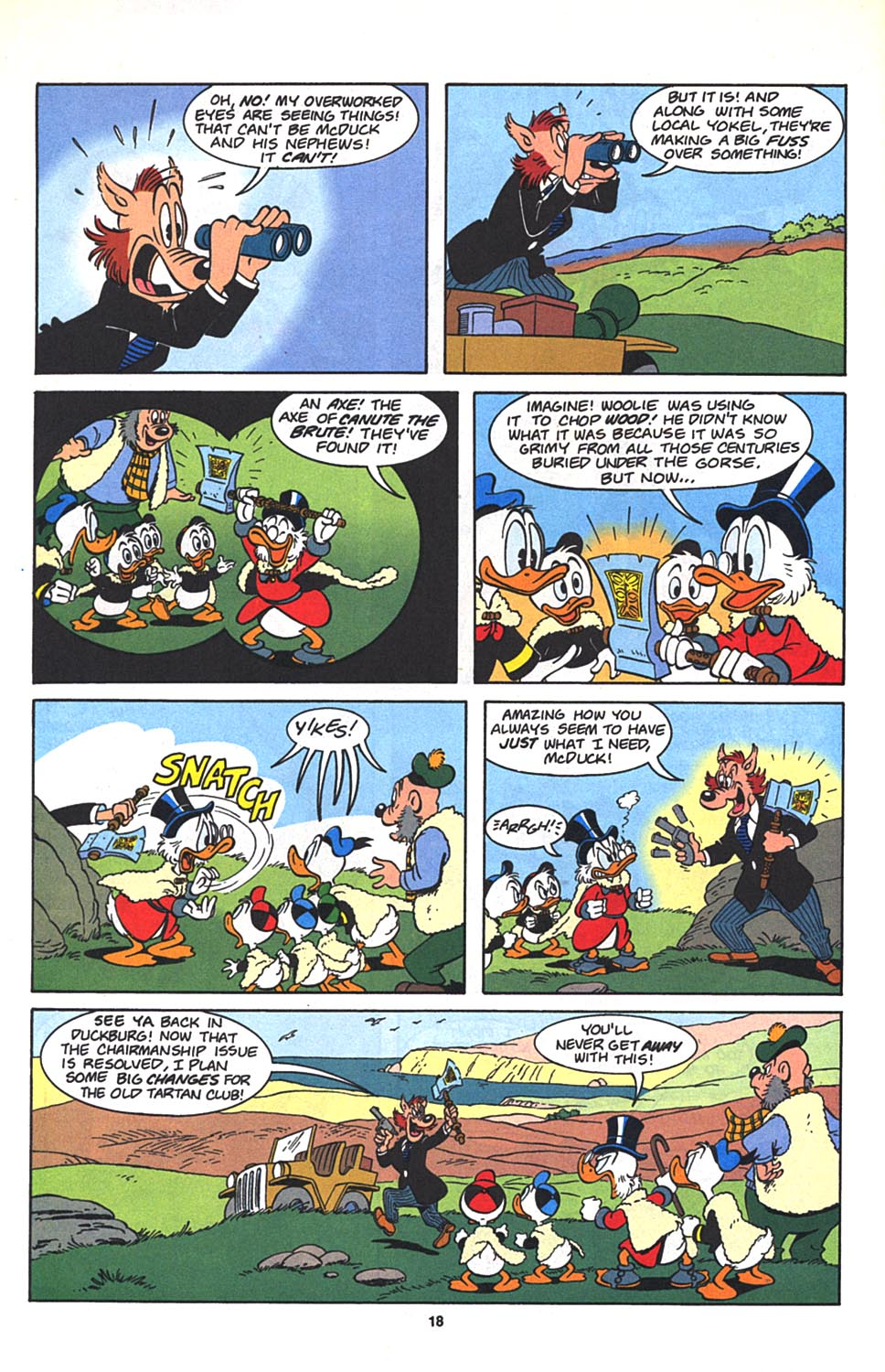 Read online Uncle Scrooge (1953) comic -  Issue #272 - 19