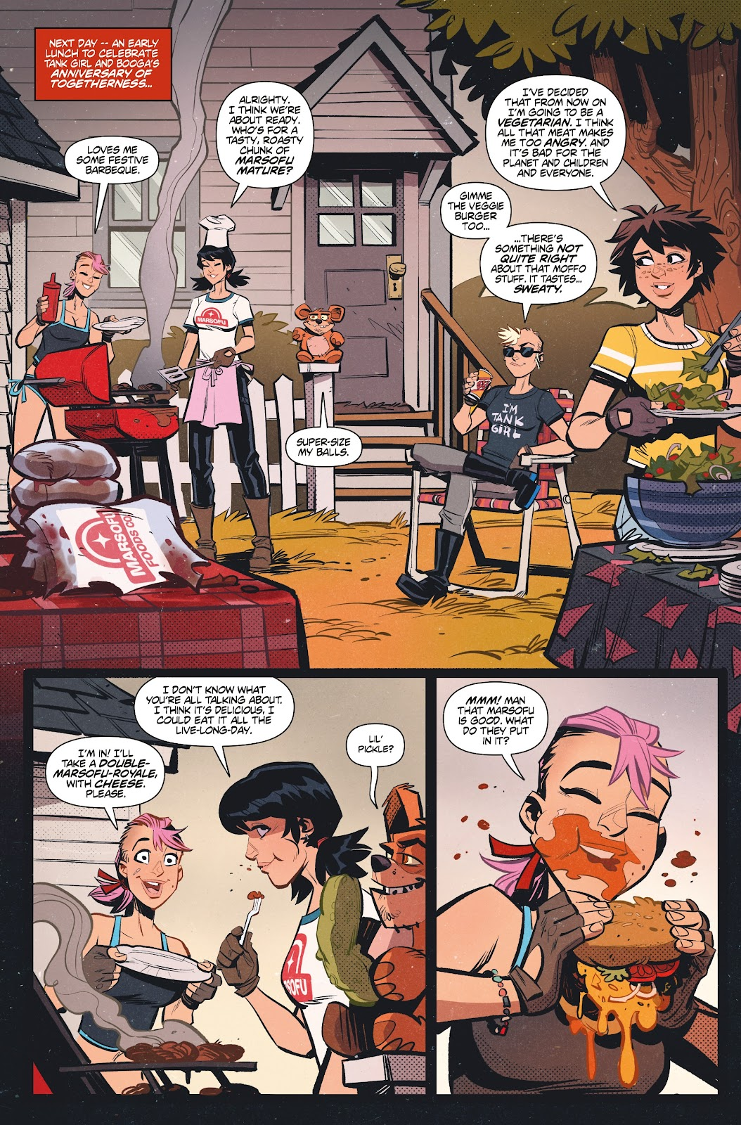 Read online Tank Girl Ongoing comic -  Issue #1 - 9