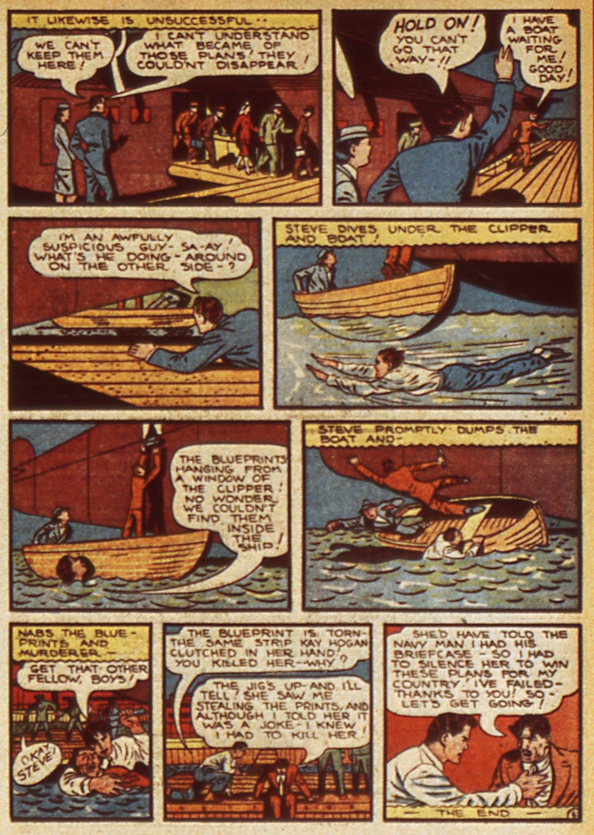 Read online Detective Comics (1937) comic -  Issue #45 - 49