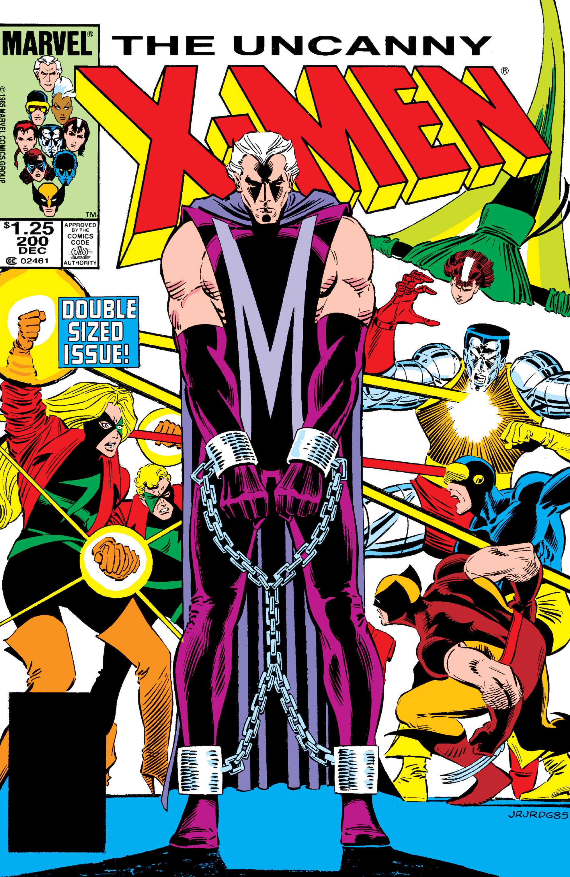 Uncanny X-Men (1963) 200 Page 1