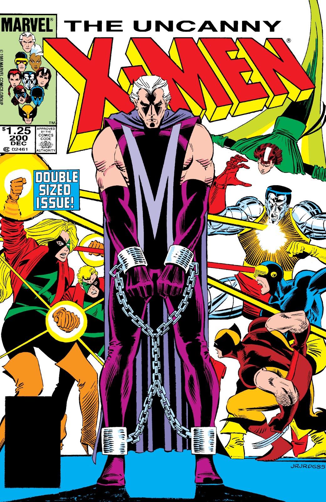 Uncanny X-Men (1963) issue 200 - Page 1