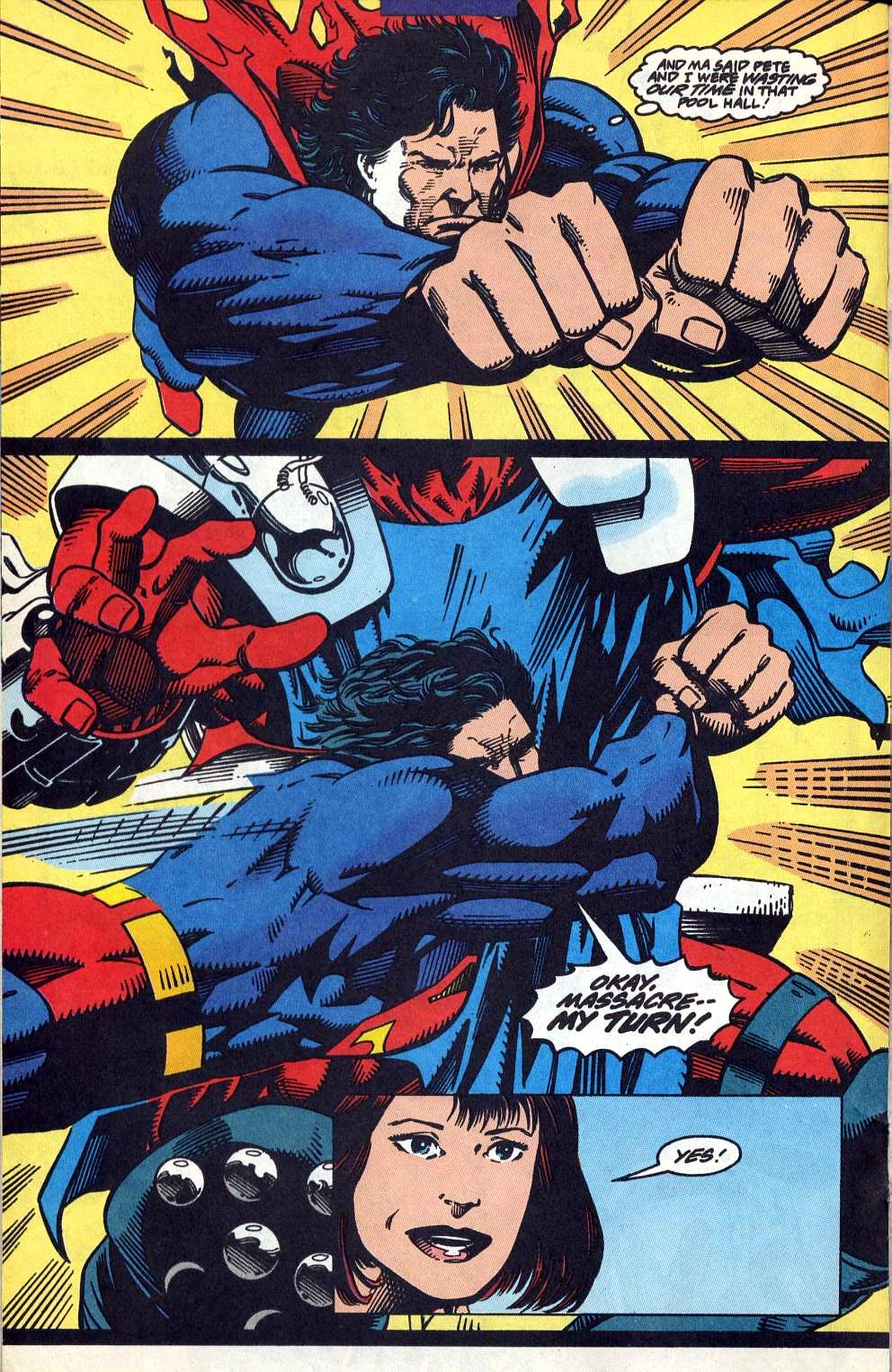 Read online Adventures of Superman (1987) comic -  Issue #515 - 16