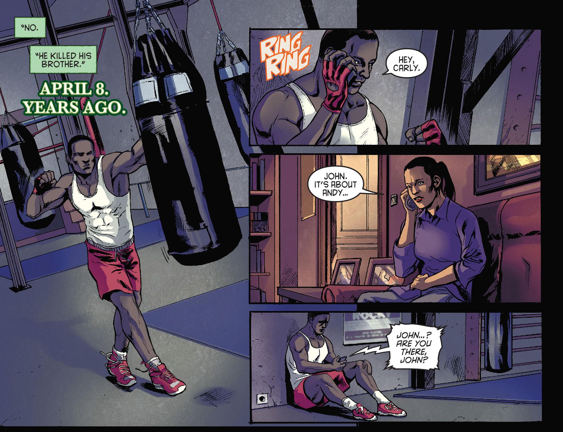 Read online Arrow [II] comic -  Issue #28 - 5