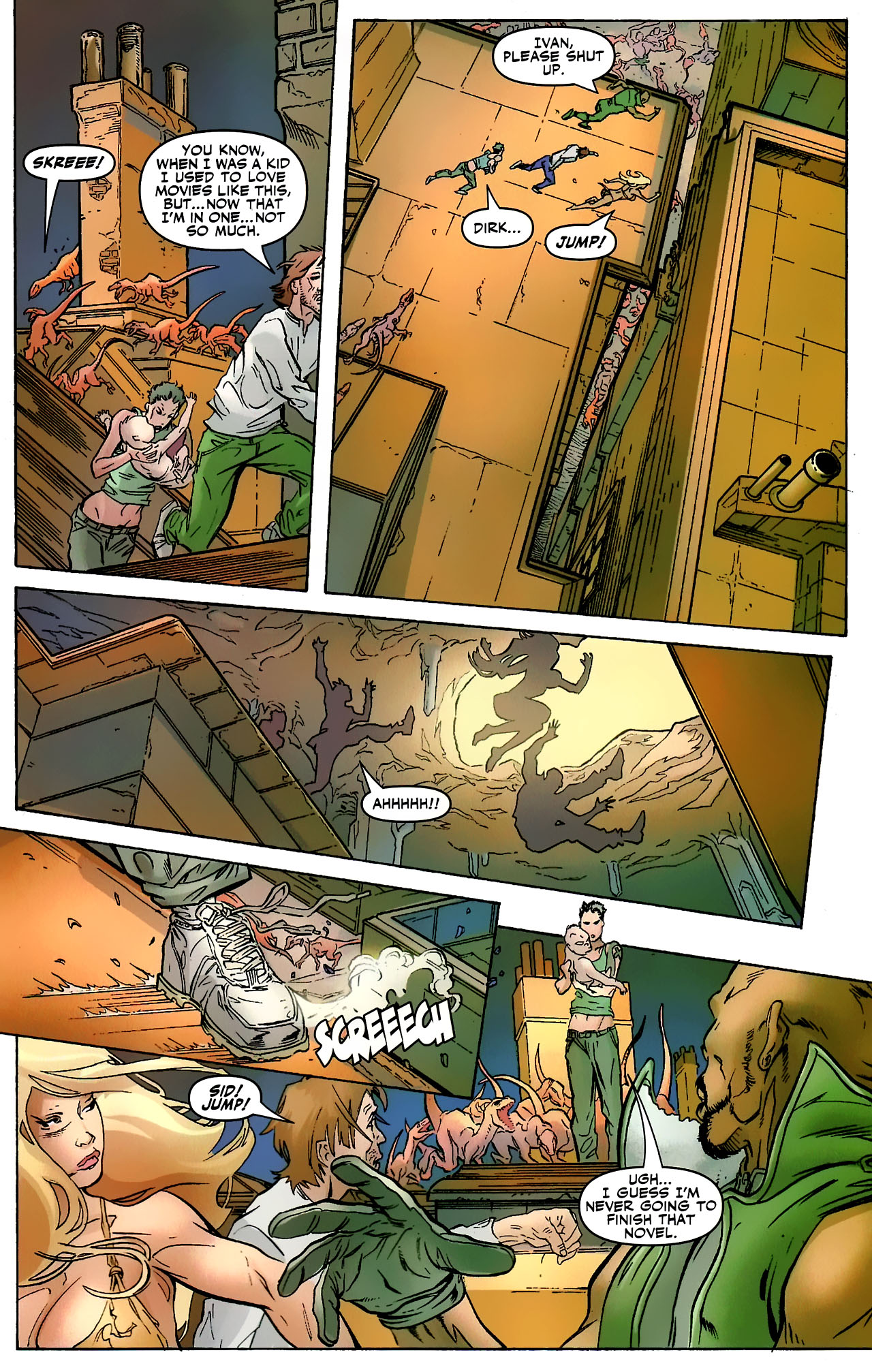 Read online Shanna the She-Devil: Survival of the Fittest comic -  Issue #3 - 18