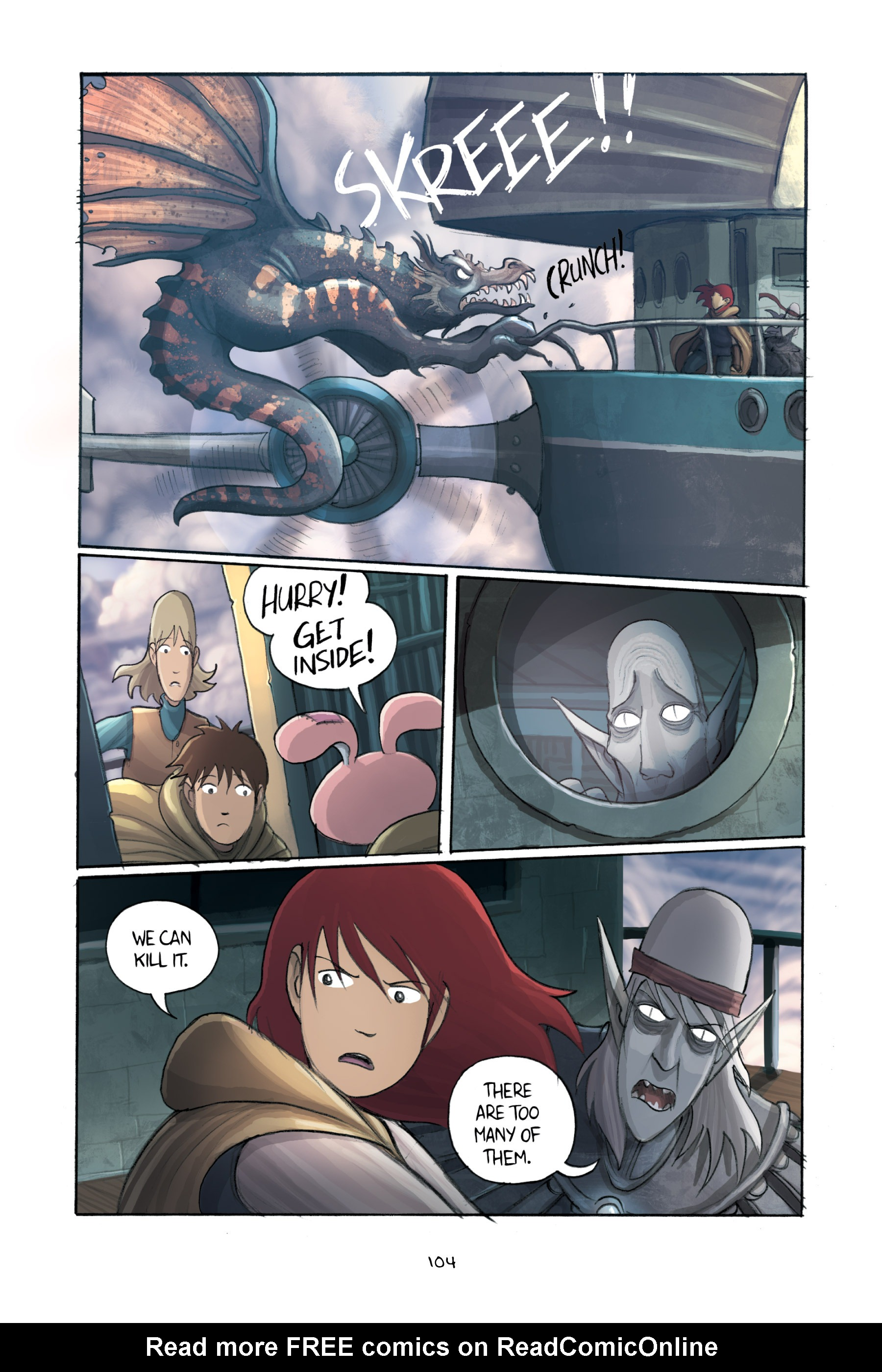 Read online Amulet comic -  Issue #3 - 102