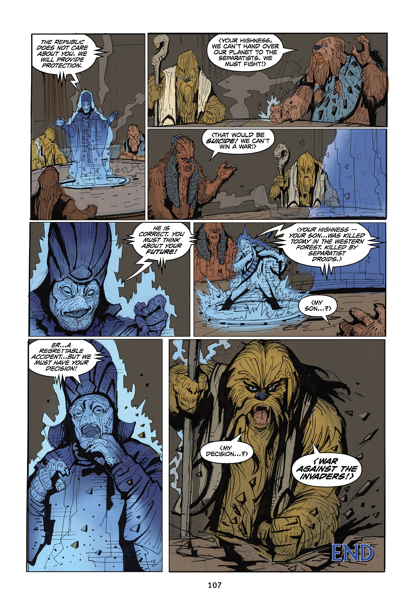 Read online Star Wars Omnibus comic -  Issue # Vol. 30 - 105