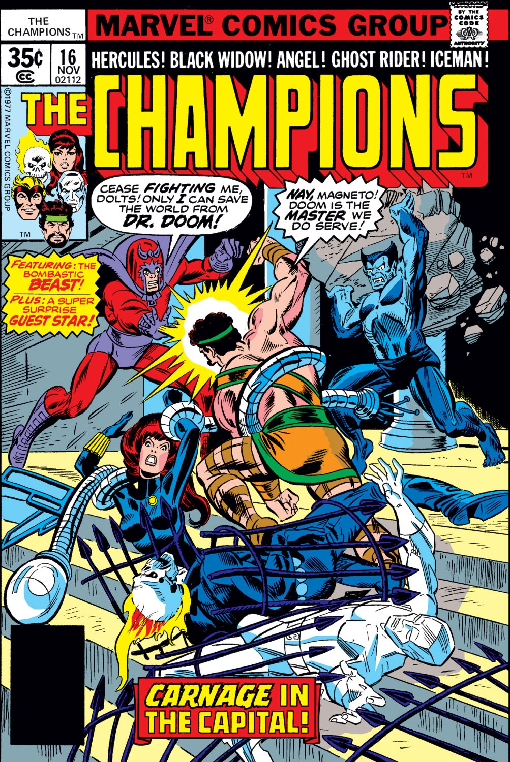 The Champions issue 16 - Page 1