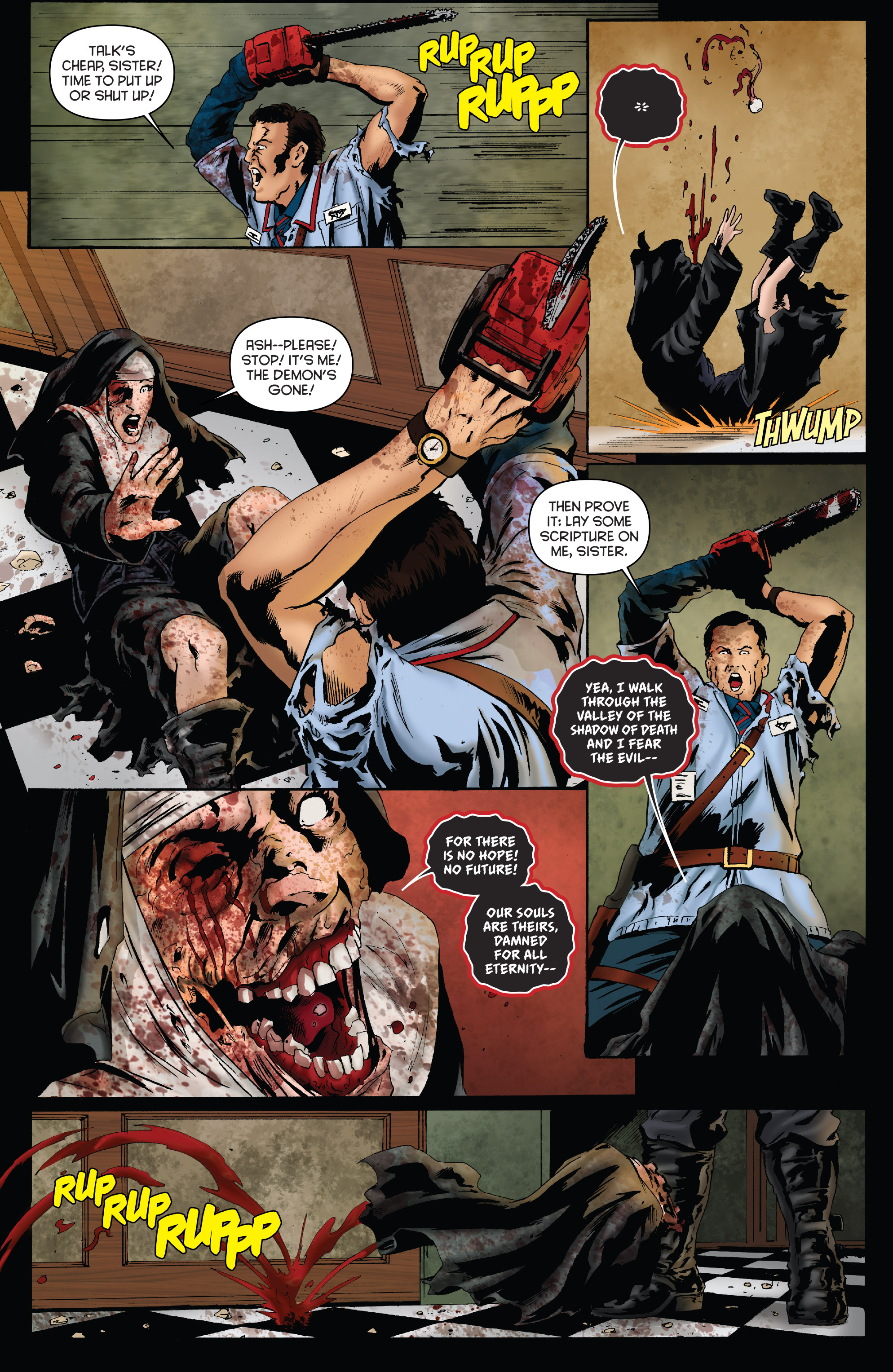 Read online Army of Darkness: Furious Road comic -  Issue #3 - 20