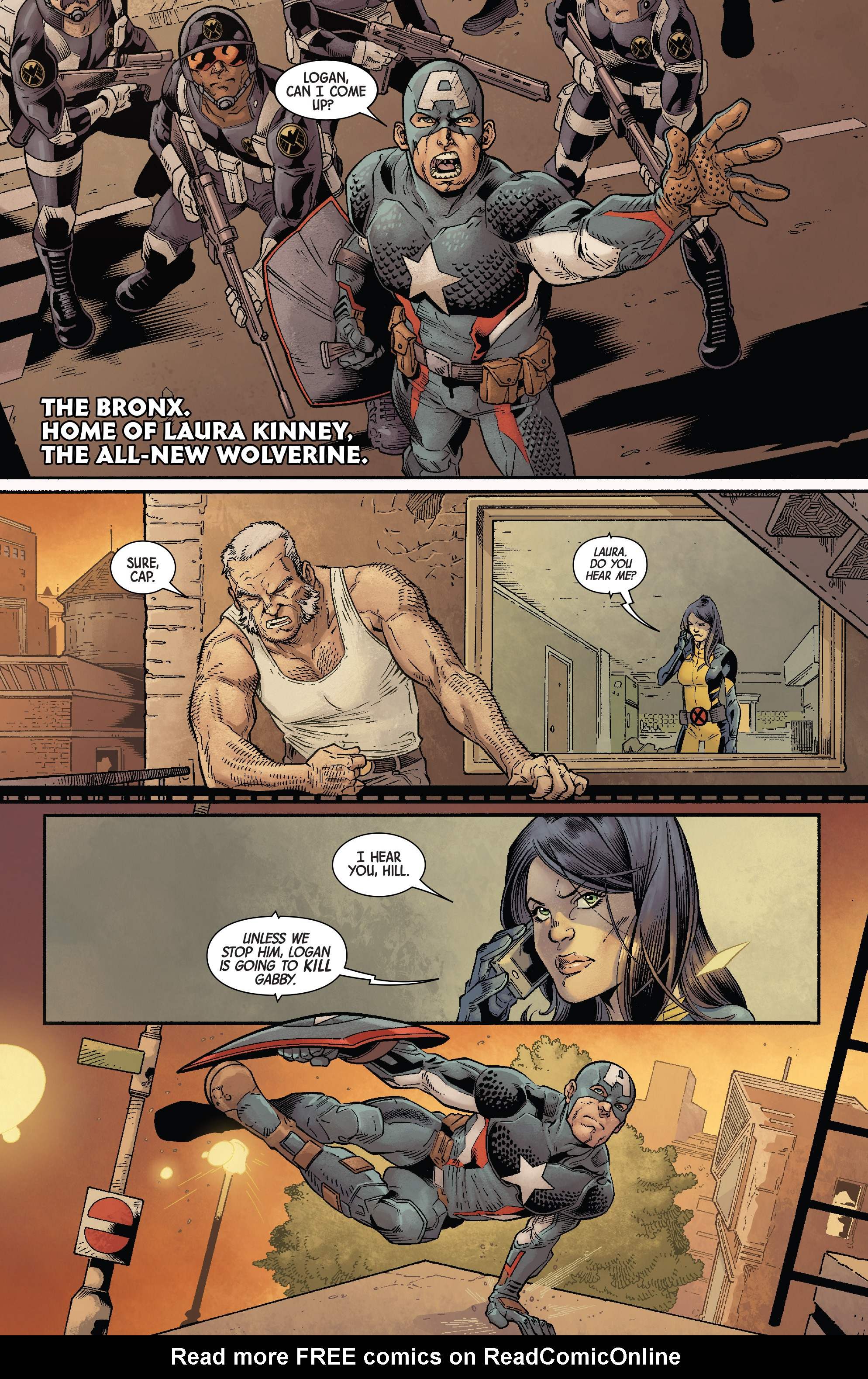 Read online All-New Wolverine (2016) comic -  Issue #11 - 3