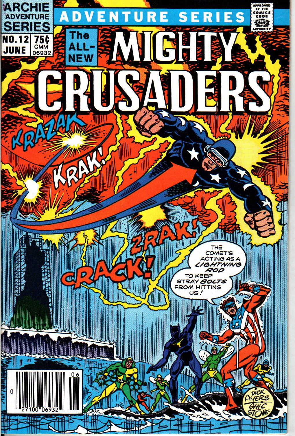 The All New Adventures of the Mighty Crusaders 12 Page 1