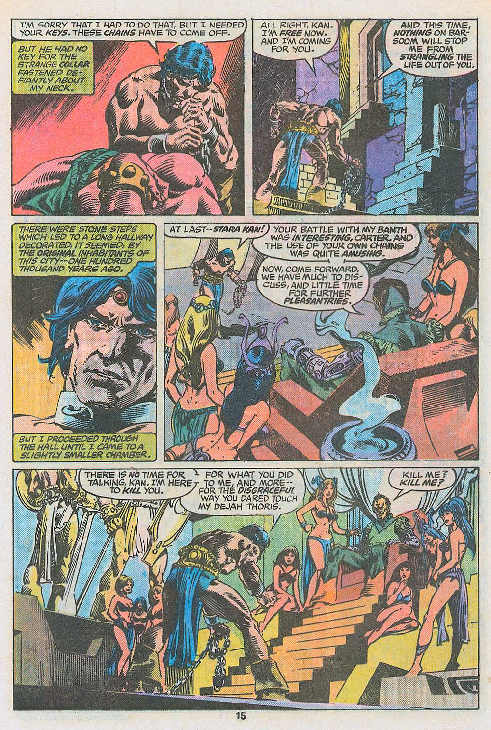 John Carter Warlord of Mars issue 3 - Page 17