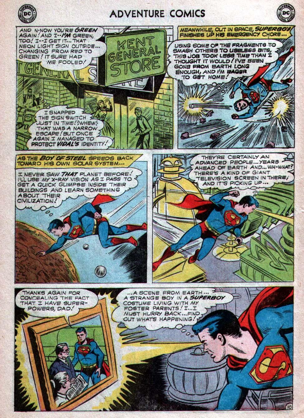 Read online Adventure Comics (1938) comic -  Issue #260 - 12