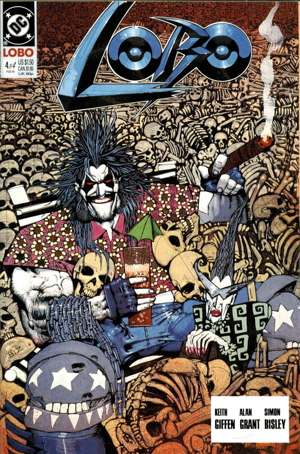 Read online Lobo (1990) comic -  Issue #4 - 1