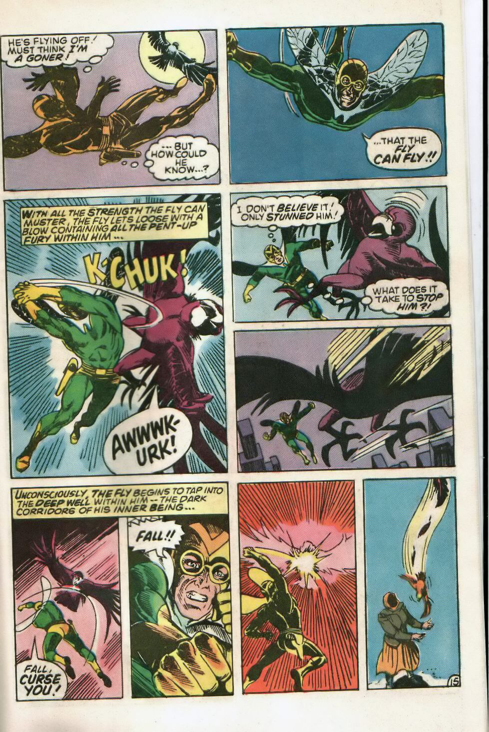 Read online The Fly (1983) comic -  Issue #2 - 25