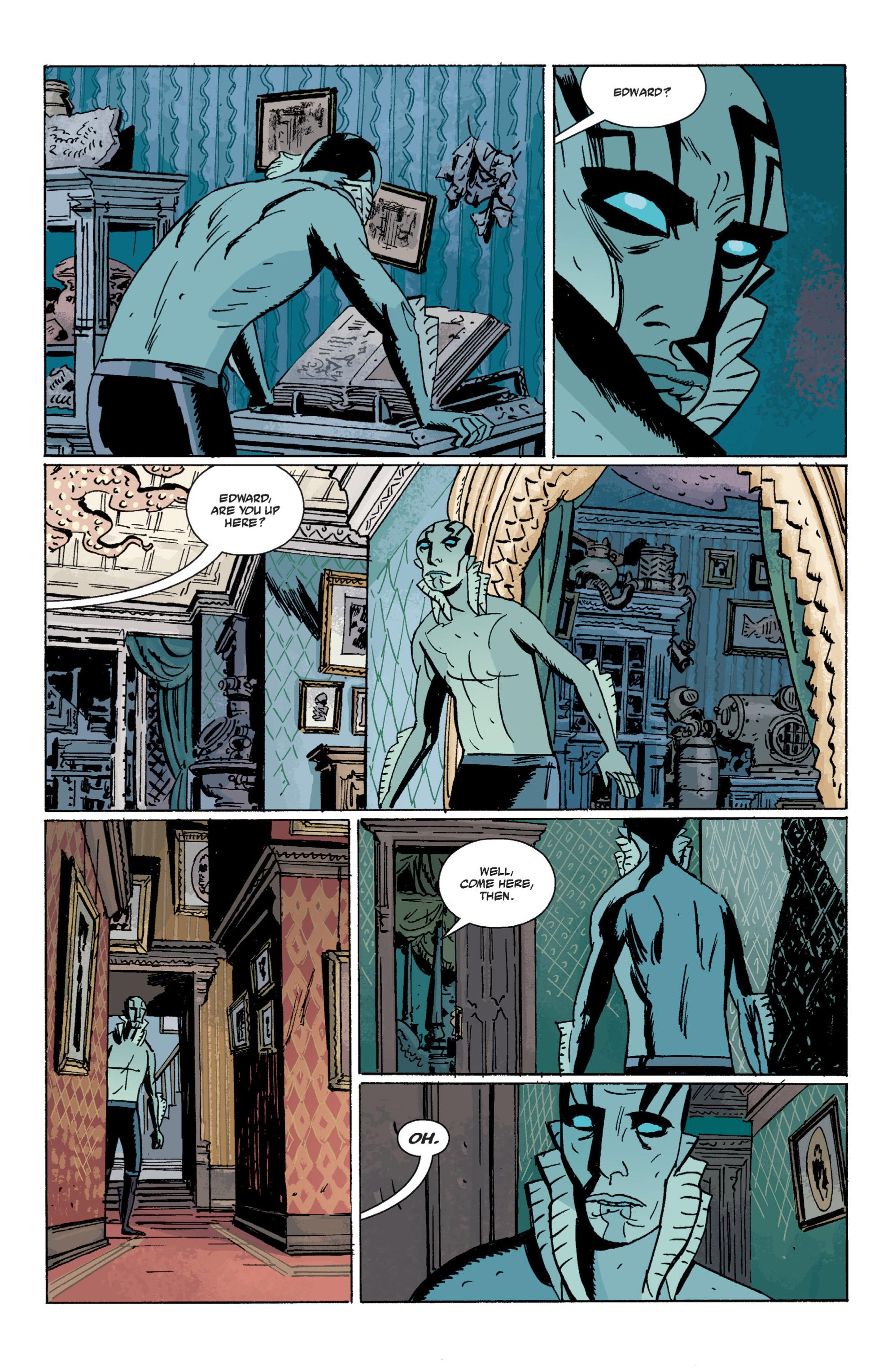 Read online B.P.R.D. (2003) comic -  Issue # TPB 7 - 82