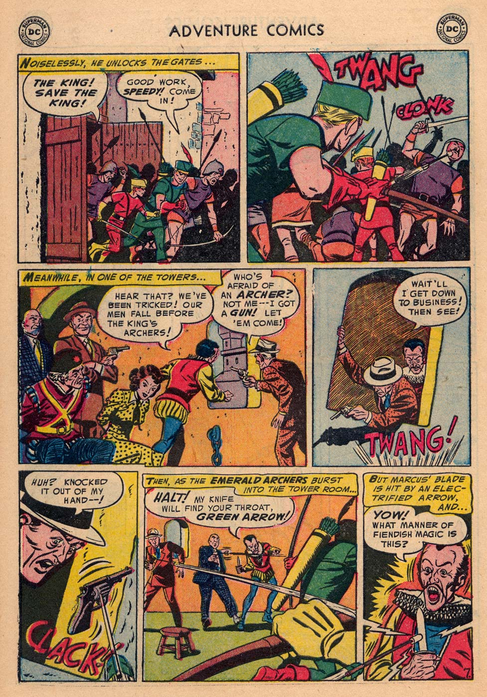Read online Adventure Comics (1938) comic -  Issue #198 - 40