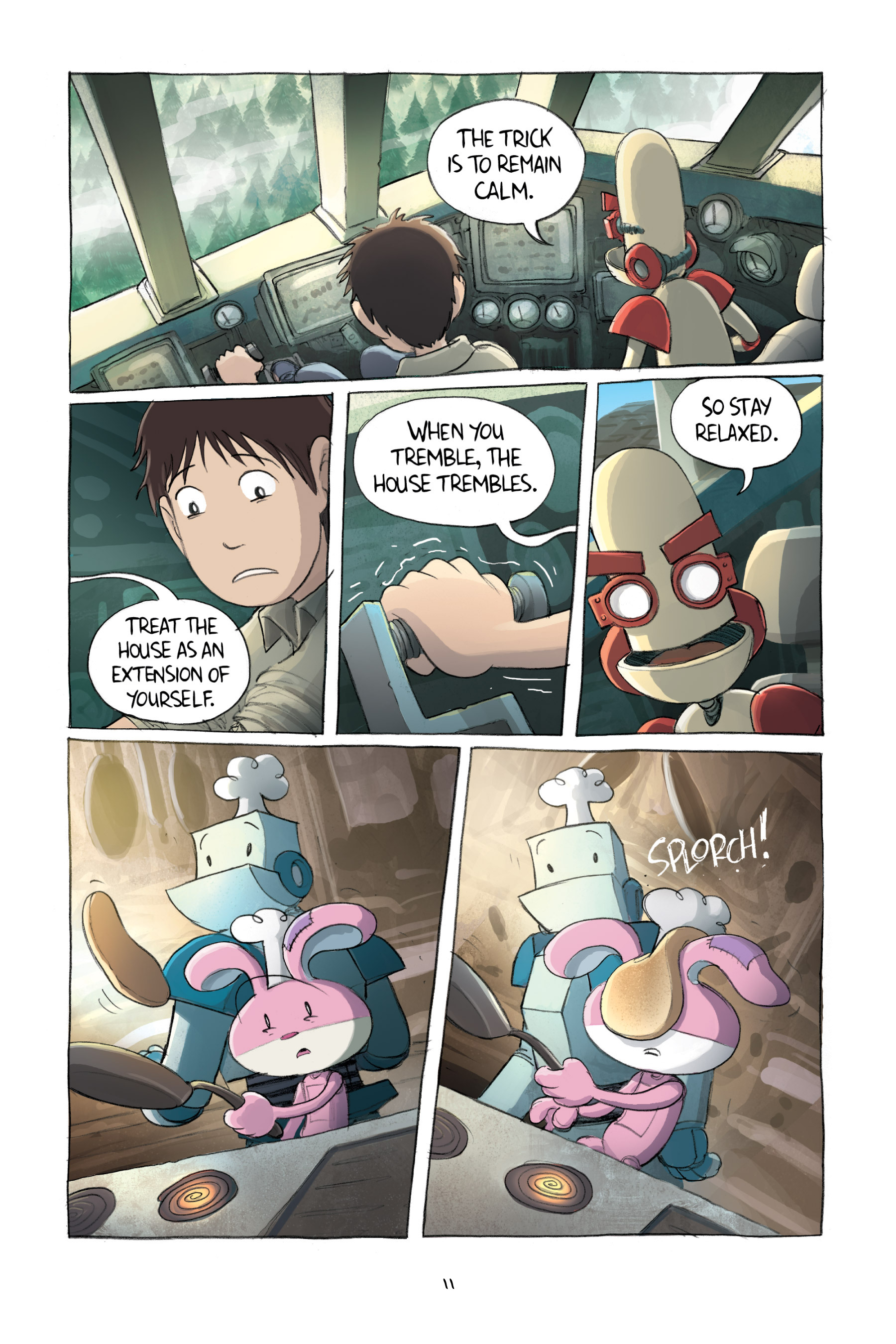 Read online Amulet comic -  Issue #2 - 14