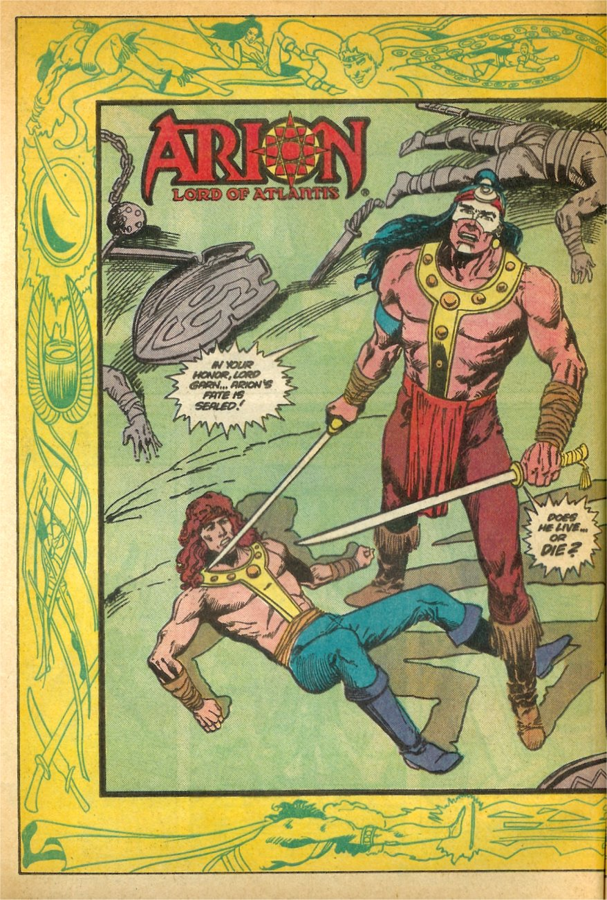 Read online Arion, Lord of Atlantis comic -  Issue #24 - 3