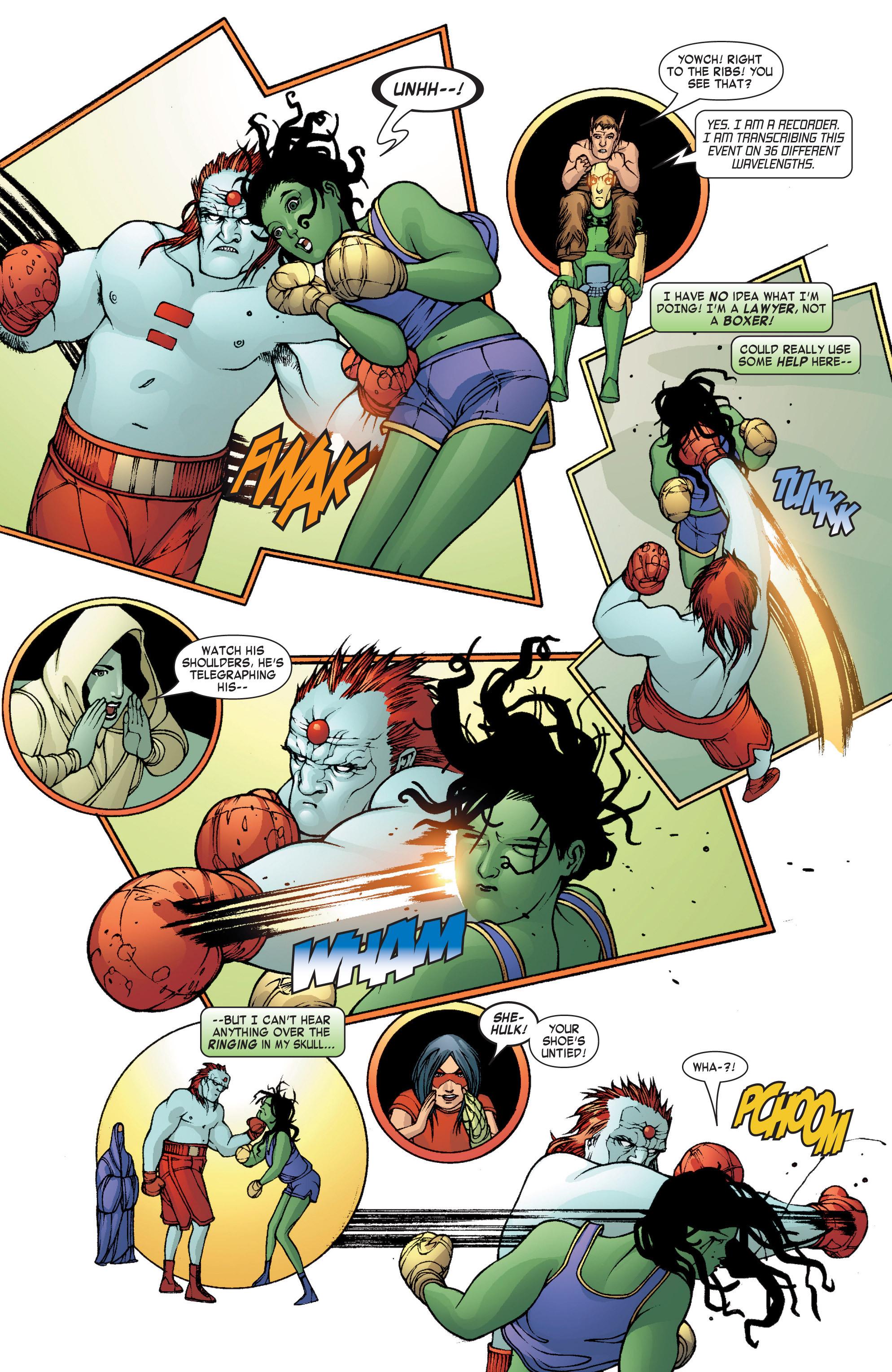 Read online She-Hulk (2004) comic -  Issue #8 - 11
