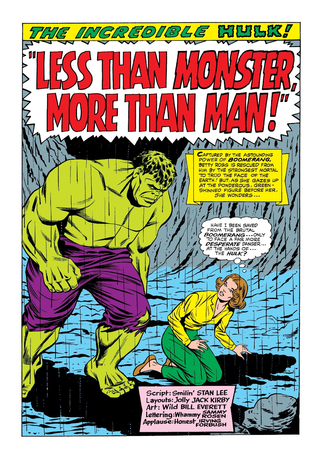 Read online Marvel Masterworks: The Incredible Hulk comic -  Issue # TPB 3 (Part 1) - 41