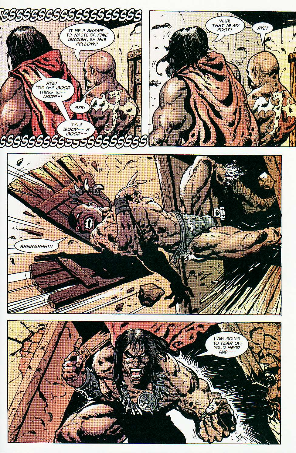 Read online Conan: Return of Styrm comic -  Issue #2 - 22