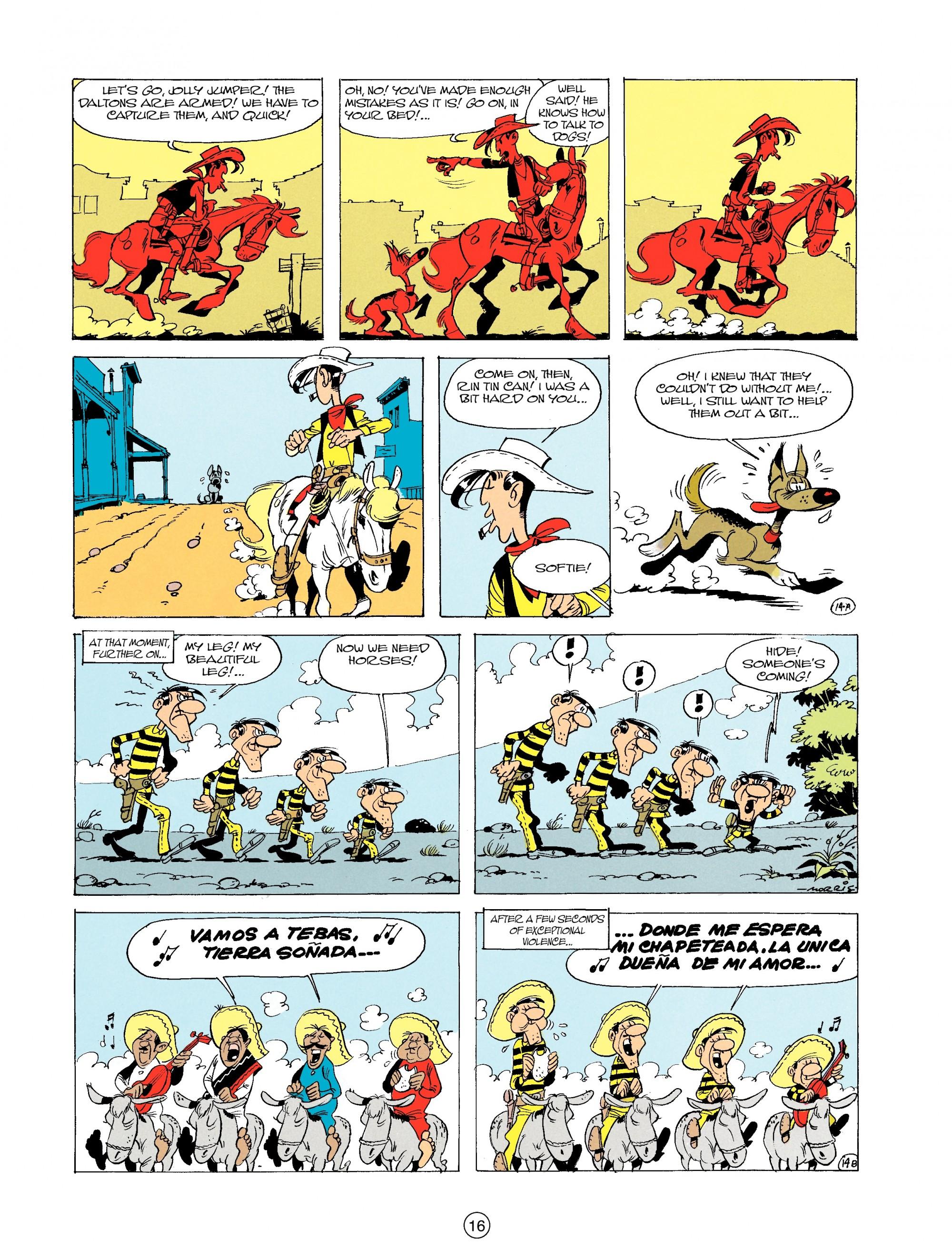 Read online A Lucky Luke Adventure comic -  Issue #19 - 16