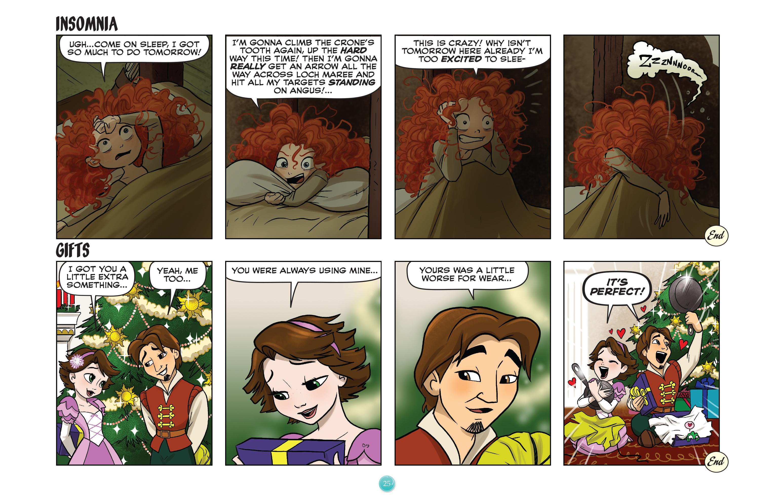 Read online Disney Princess comic -  Issue #8 - 25