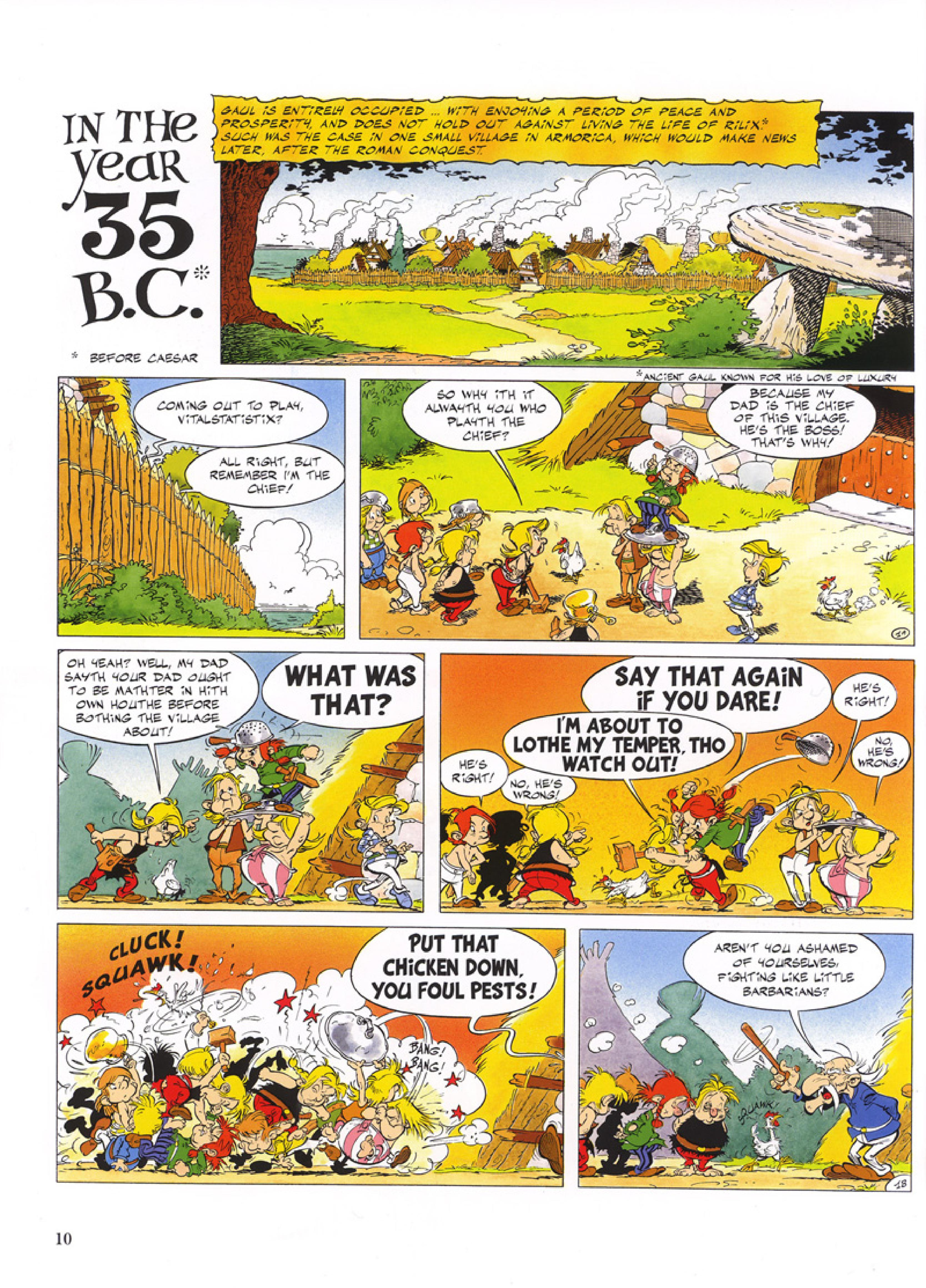 Read online Asterix comic -  Issue #32 - 11