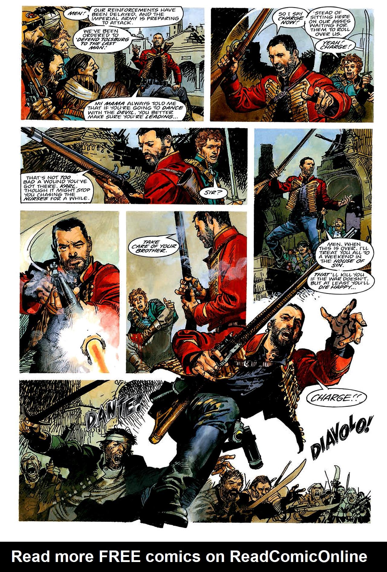 Read online Nikolai Dante comic -  Issue # TPB 4 - 10