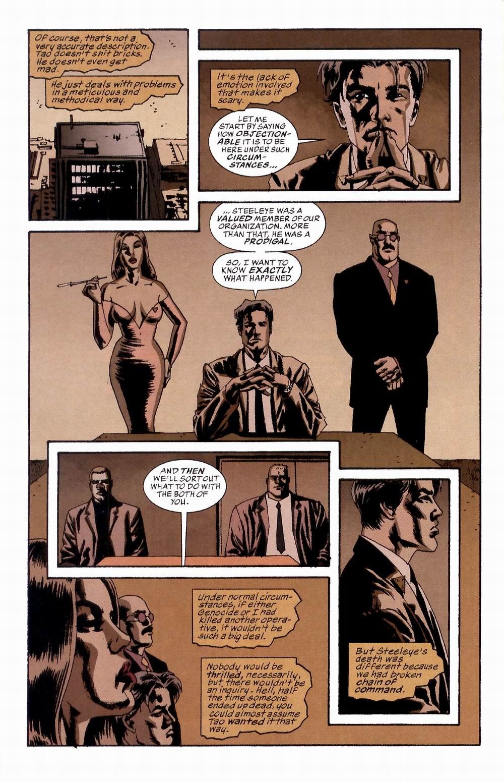 Read online Sleeper comic -  Issue #2 - 12
