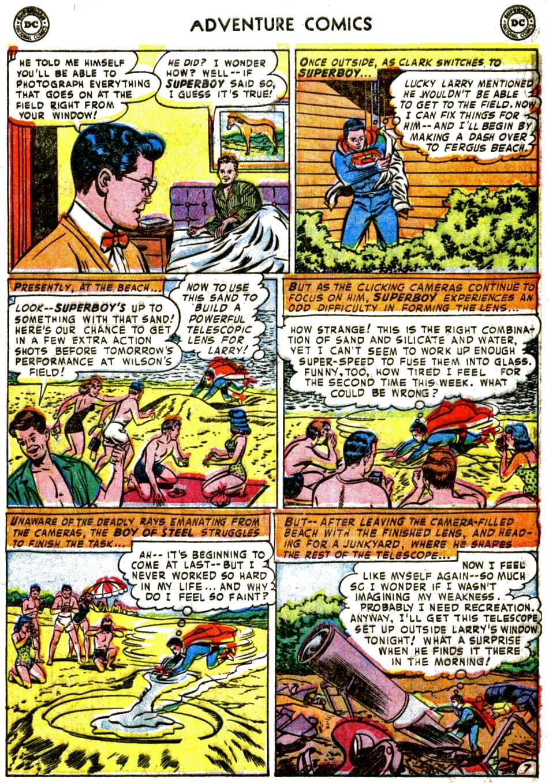 Read online Adventure Comics (1938) comic -  Issue #184 - 9