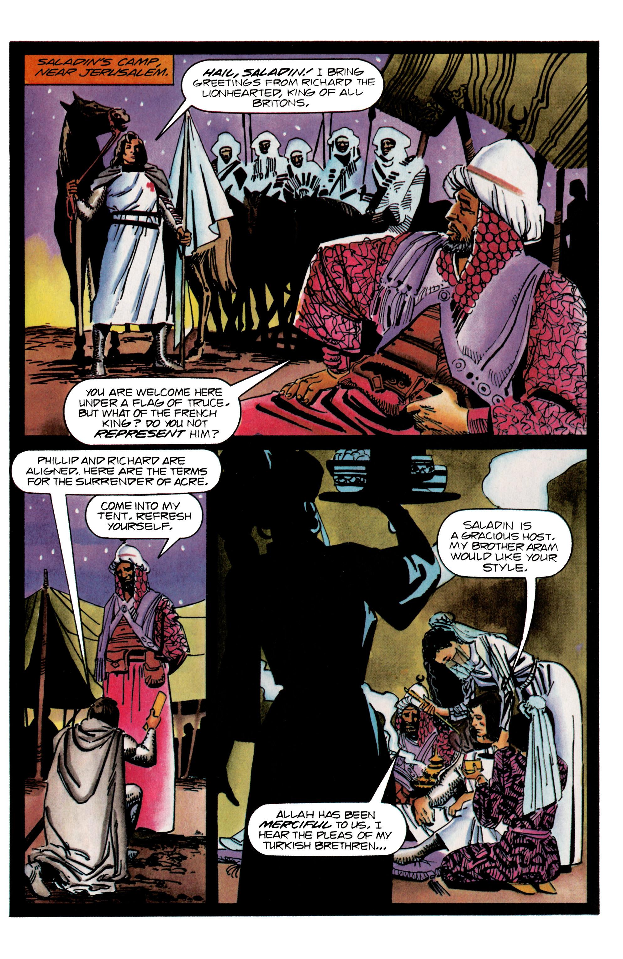 Read online Eternal Warrior (1992) comic -  Issue #25 - 15