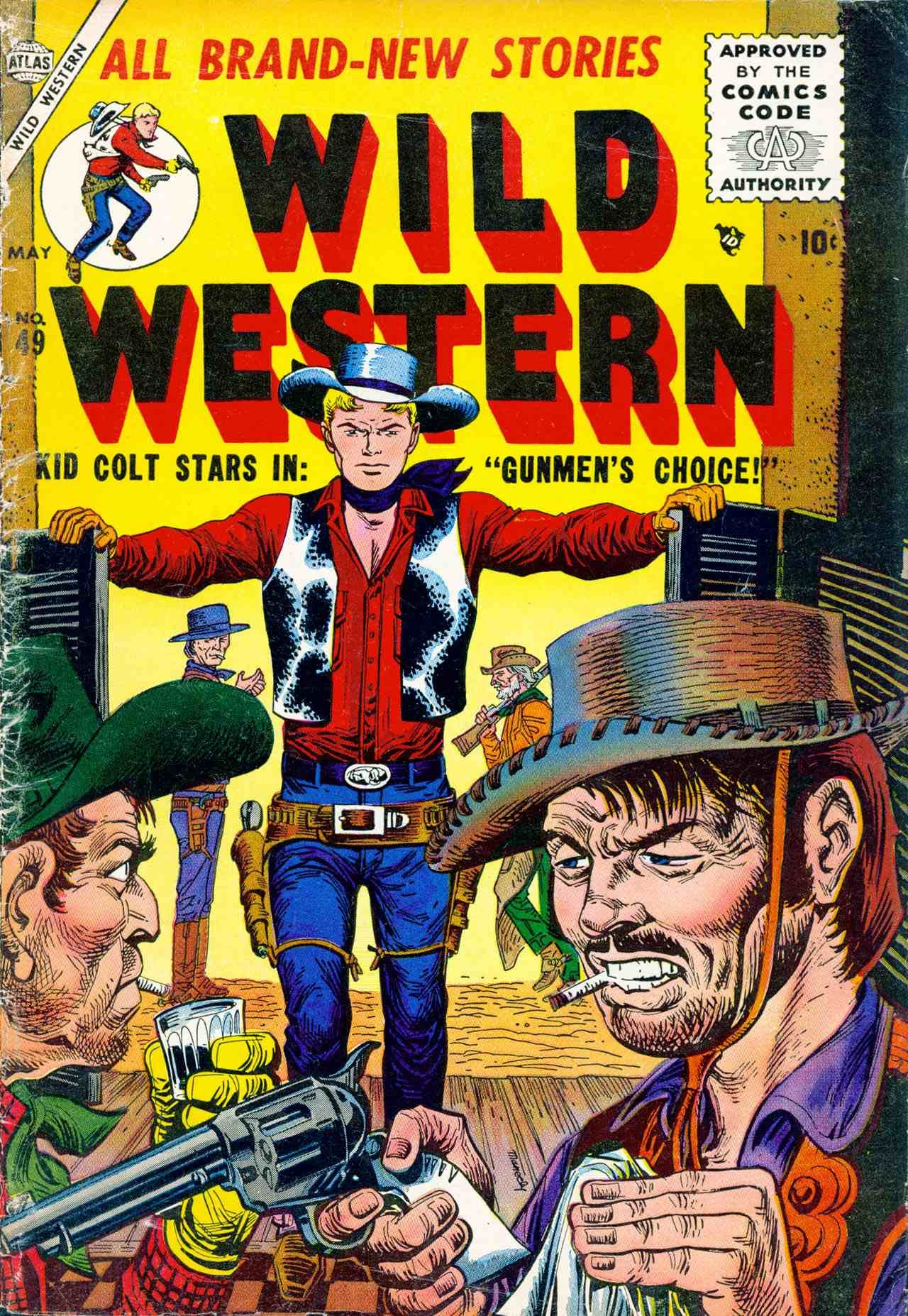 Wild Western 49 Page 1