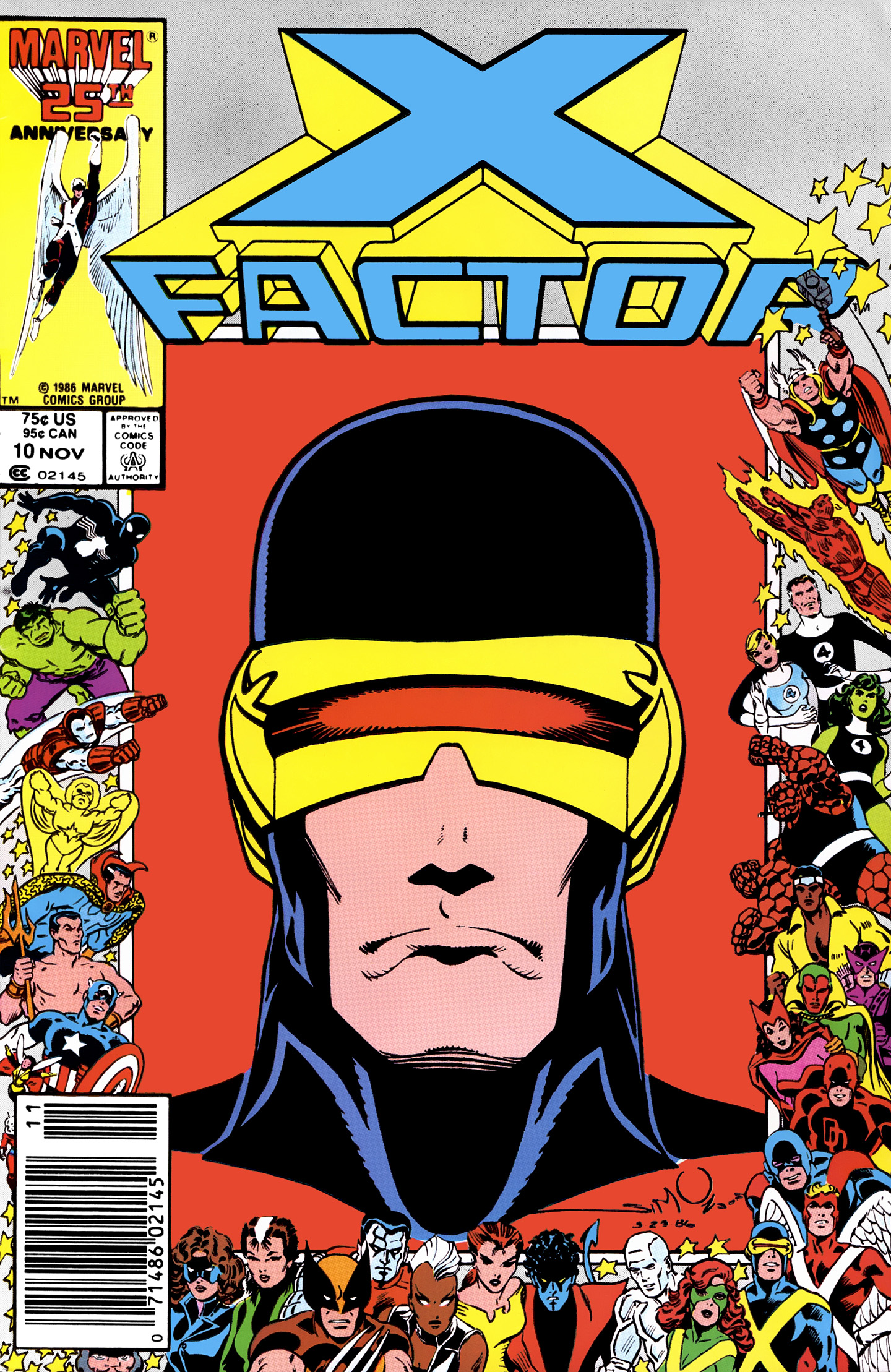 Read online X-Factor (1986) comic -  Issue #10 - 1