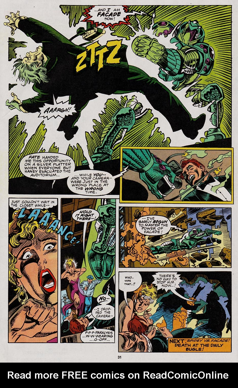 Web of Spider-Man (1985) Issue #113 #123 - English 26