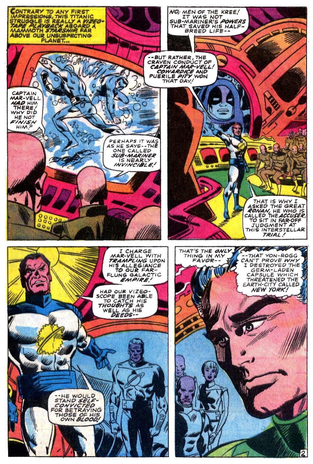 Captain Marvel (1968) issue 5 - Page 3