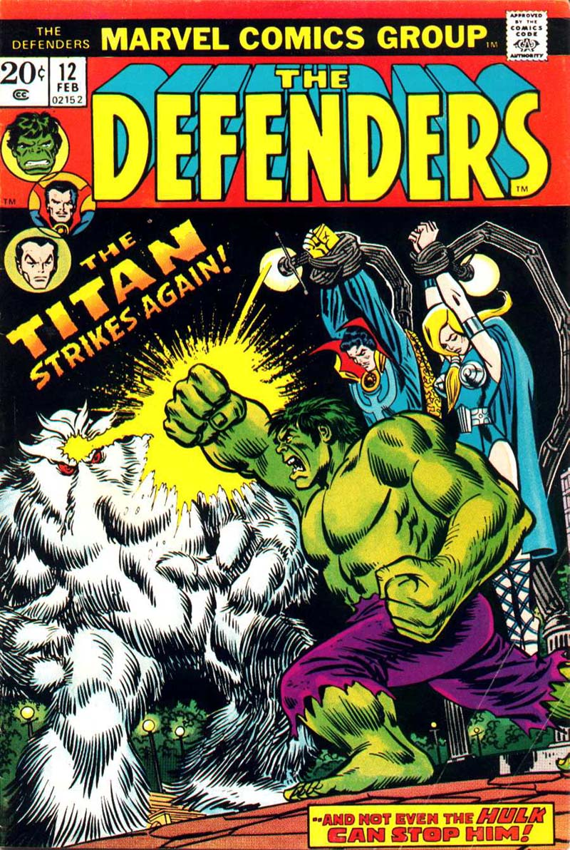 The Defenders (1972) issue 12 - Page 1