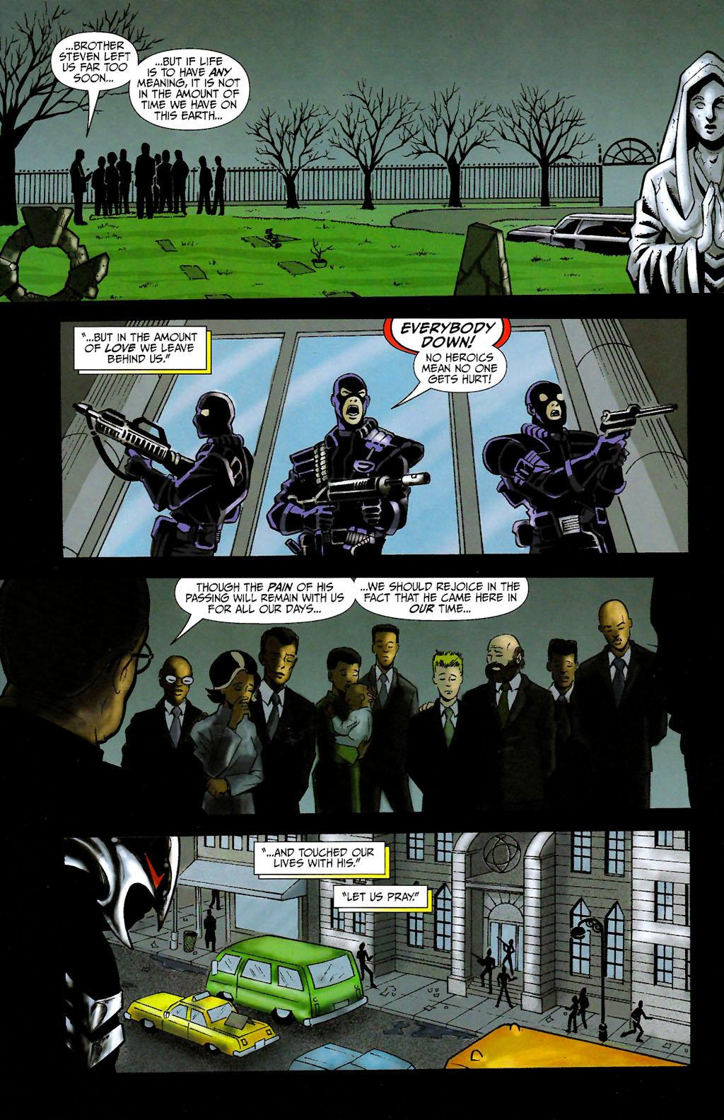 Read online ShadowHawk (2005) comic -  Issue #10 - 3