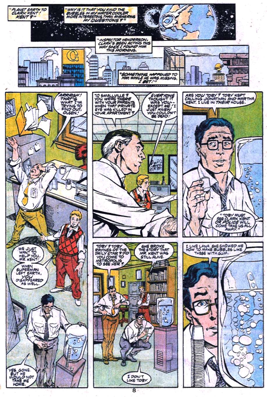 Read online Adventures of Superman (1987) comic -  Issue #455 - 9