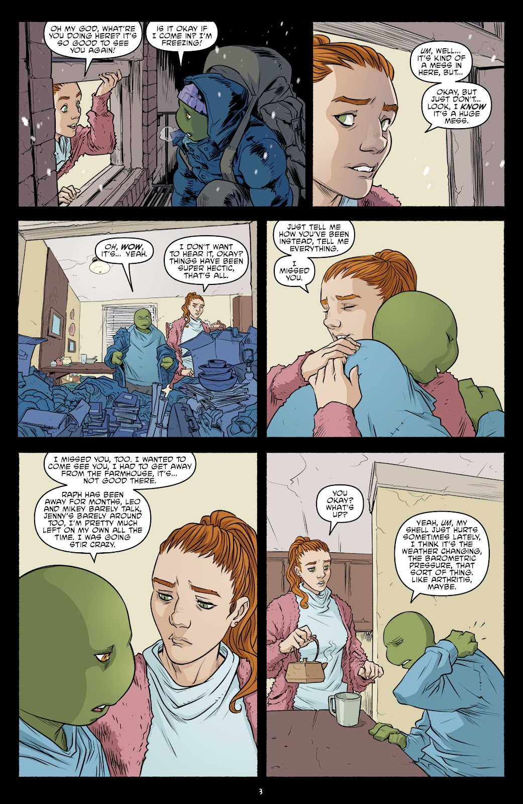 Read online Teenage Mutant Ninja Turtles (2011) comic -  Issue #103 - 5