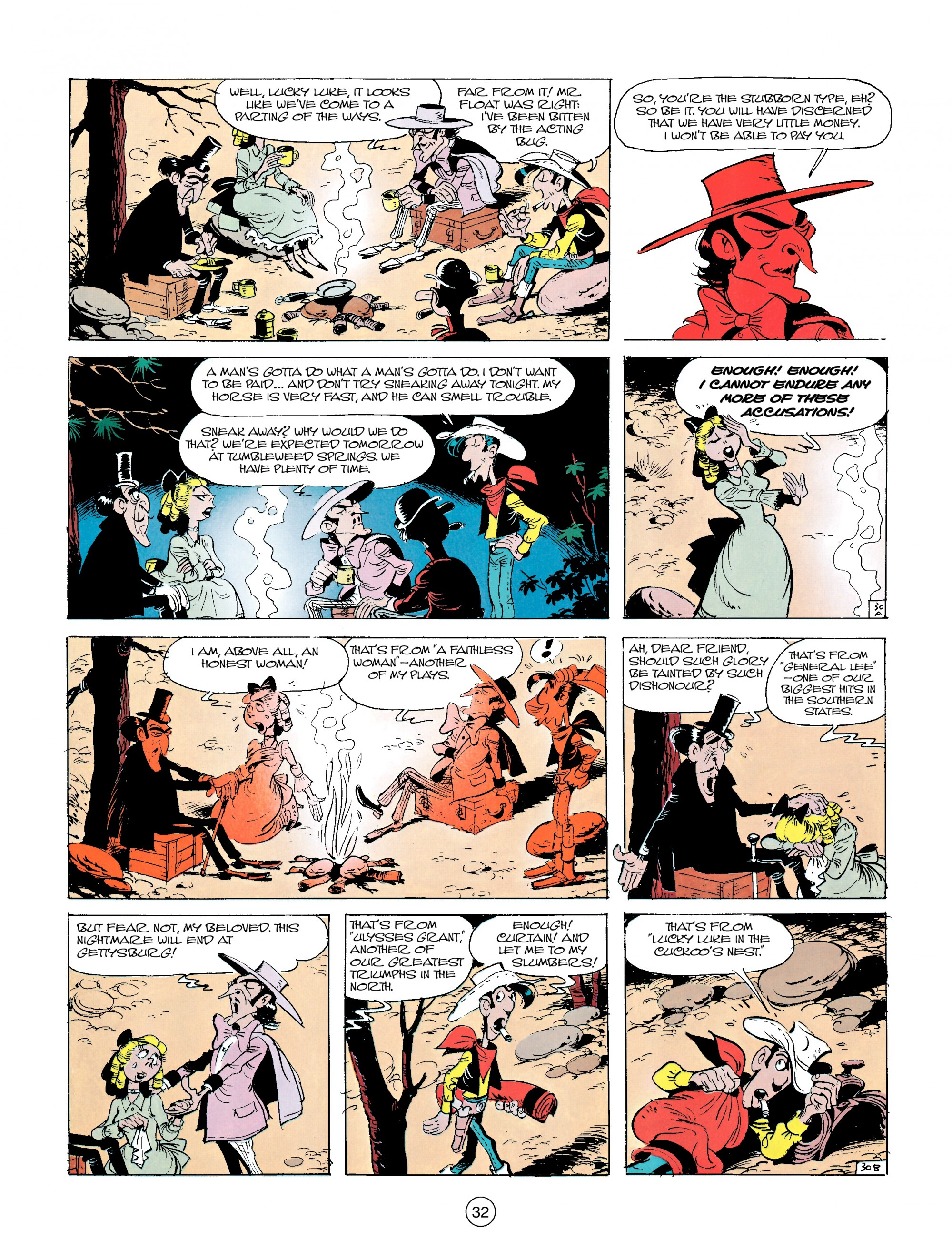 Read online A Lucky Luke Adventure comic -  Issue #14 - 32