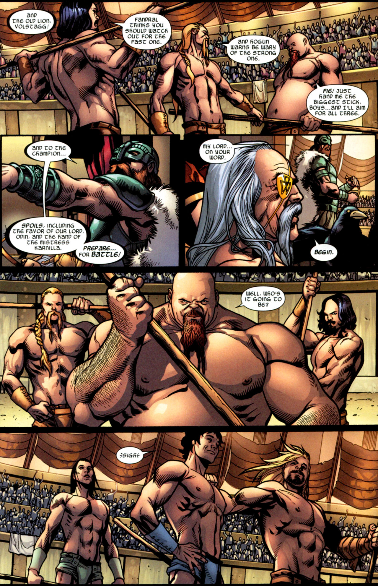 Read online Ultimate Thor comic -  Issue #2 - 6