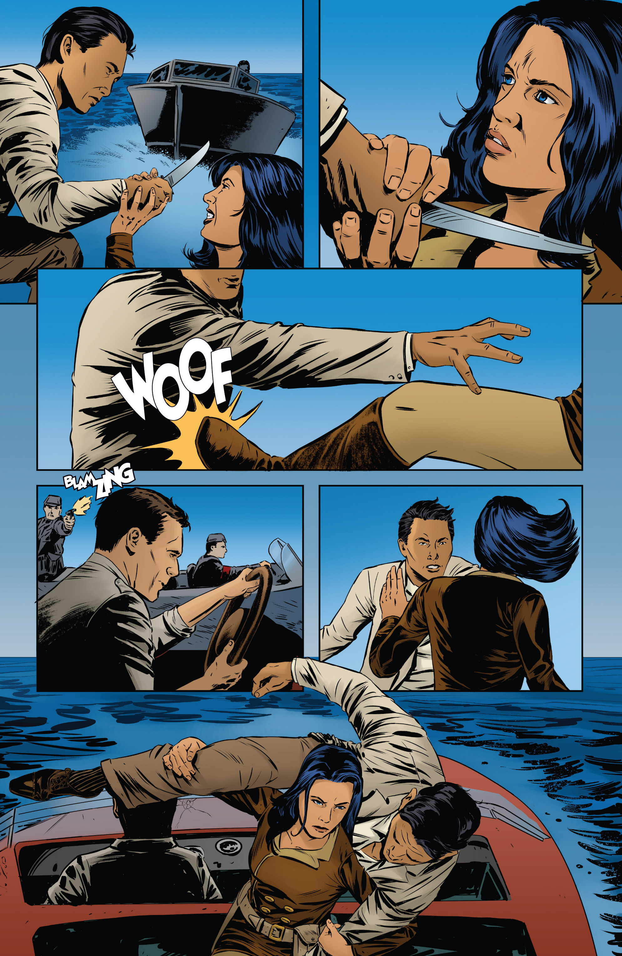 Read online Athena Voltaire and the Volcano Goddess comic -  Issue #2 - 22