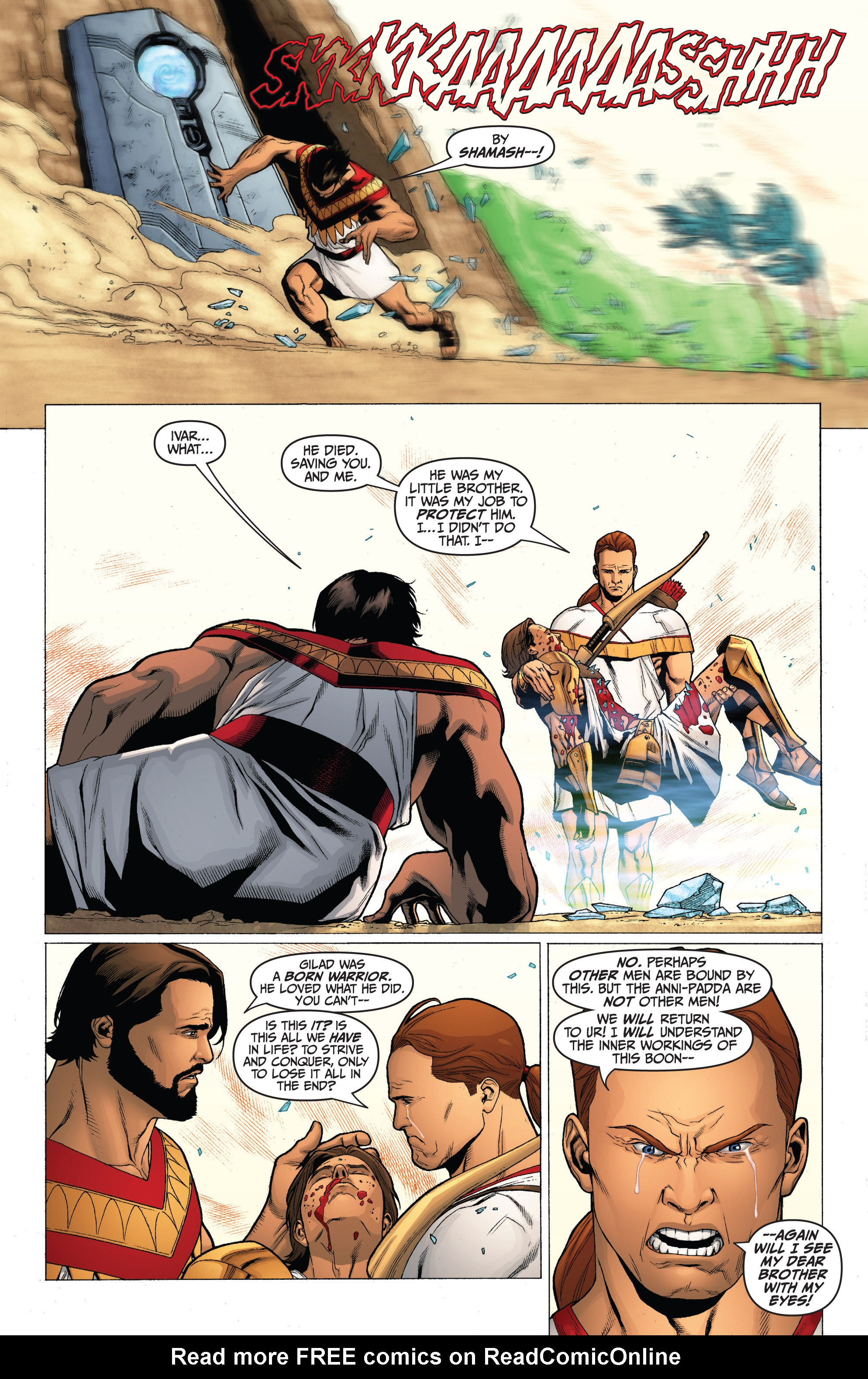 Read online Archer and Armstrong comic -  Issue #Archer and Armstrong _TPB 3 - 23